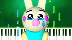 (SAD VERSION) Piggy ROBLOX - Bunny Tribute (Chapter 7 Ending Theme) (Piano Tutorial)