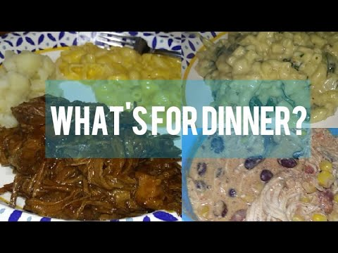 What's For Dinner? | Quick And Easy Meals