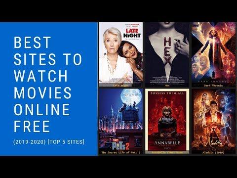 Best Sites To Watch Movies Online Free (2019-2020) [🆃🅾🅿 5 🆂🅸🆃🅴🆂]