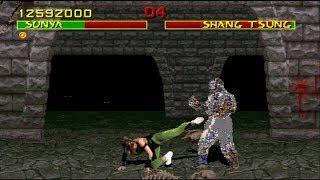 Mortal Kombat 1 SonyaTAS