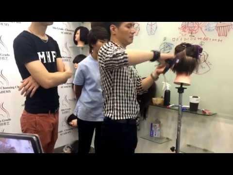 Day cat tóc Channing Chen hinh hoc Vidal Sassoon hinh hoc Ðang ky 0902011933