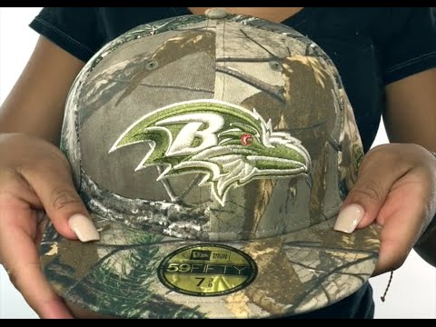 Ravens  NFL TEAM-BASIC  Realtree Camo Fitted Hat by New Era - YouTube 282950493903