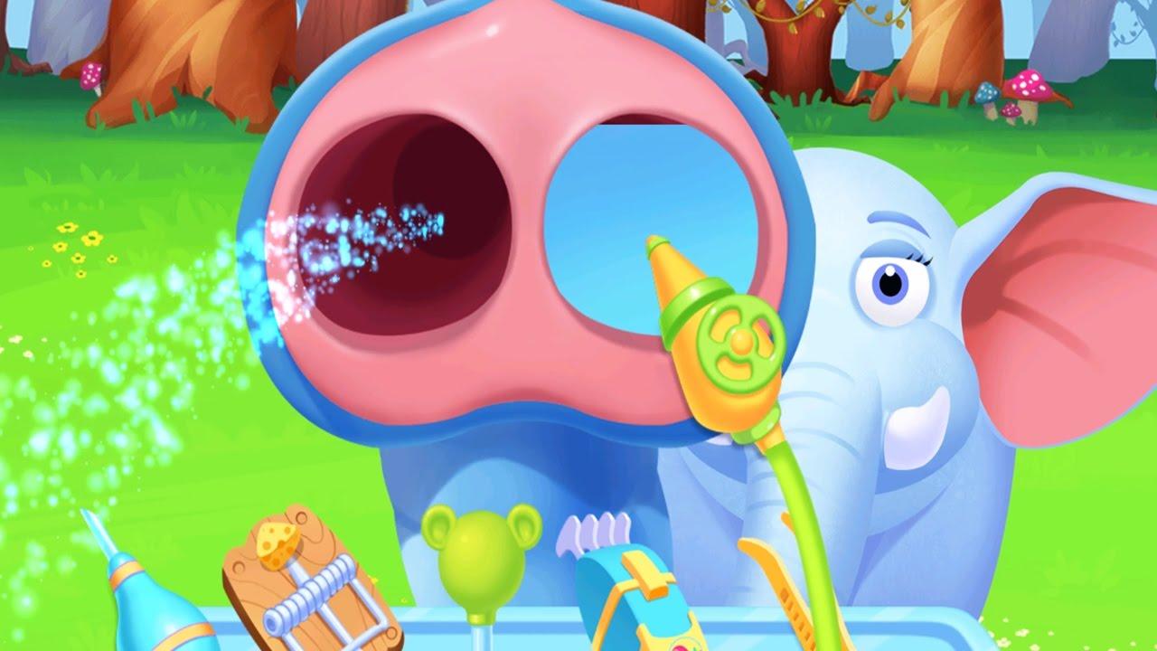 Fun Animal Jungle Care - Kids Learn To Treat Jungle Animals | Animal Doctor Kids Games