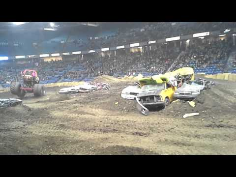Rockstar monster truck freestyle