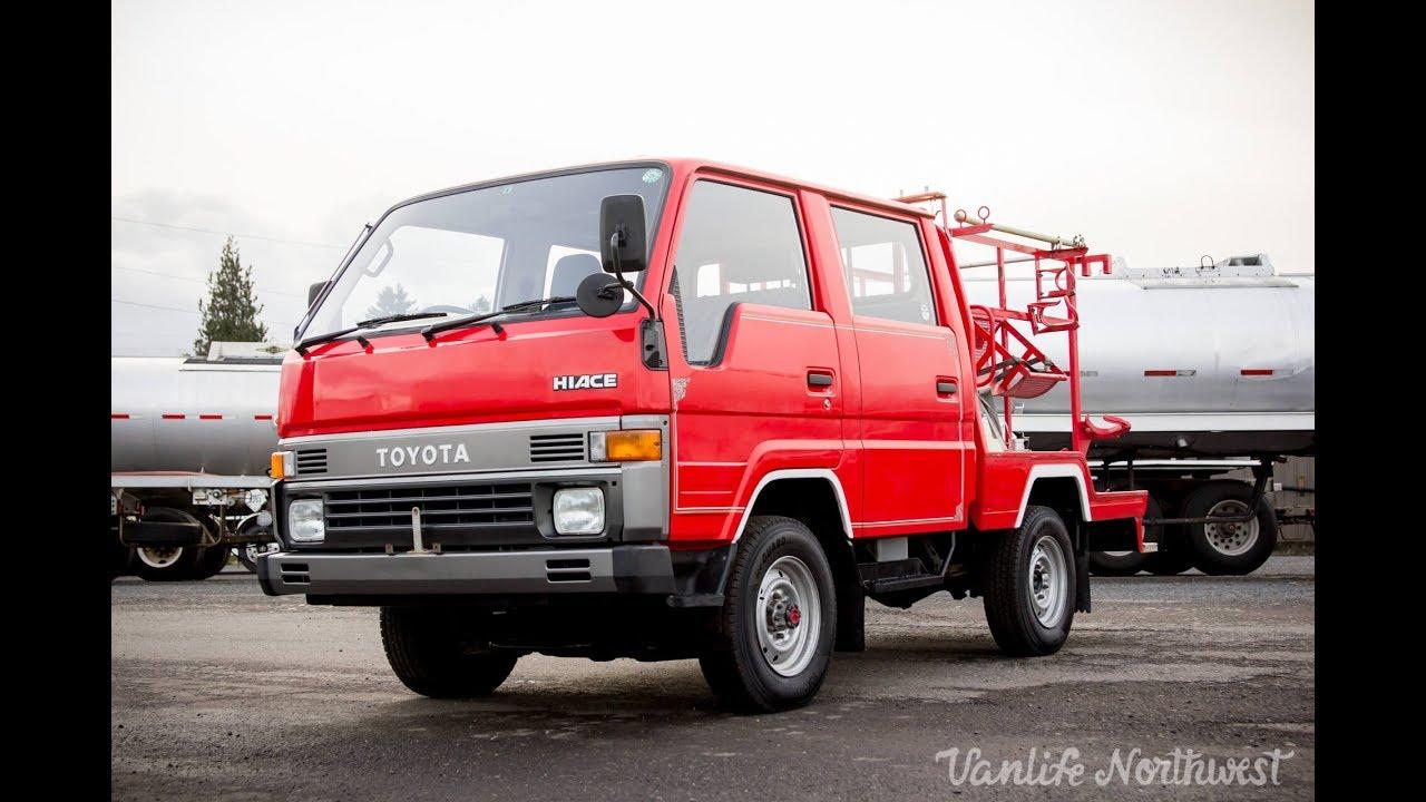 For Sale  1990 Toyota Hiace 4wd Double Cab Fire Captains