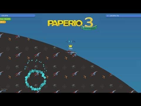 Paper.io 3 Battle Map Control: 100.00%