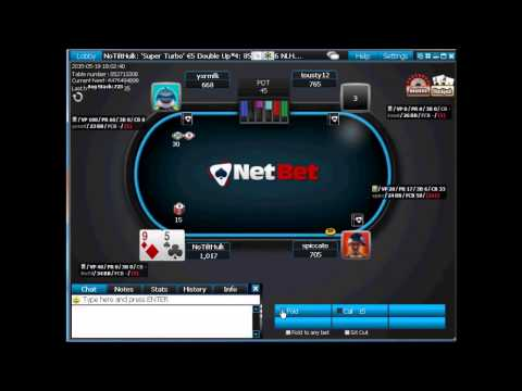 DON Double Or Nothing Sng Sit And Go At NetBet Poker IPoker