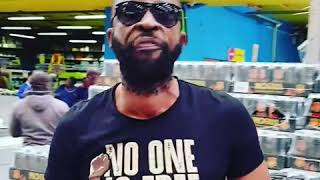 DJ Sbu activating Hustlers to come stock up on MoFaya at Cambidge Cash and Carry in Mayibuye Tembisa