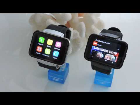 Awatch Vision Android 4.4 Smart watch phone (3G) 2.2 inch display with camera