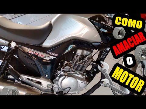 COMO AMACIAR O MOTOR DA MOTO 0KM NA PRÁTICA | BINHOVIDEOS