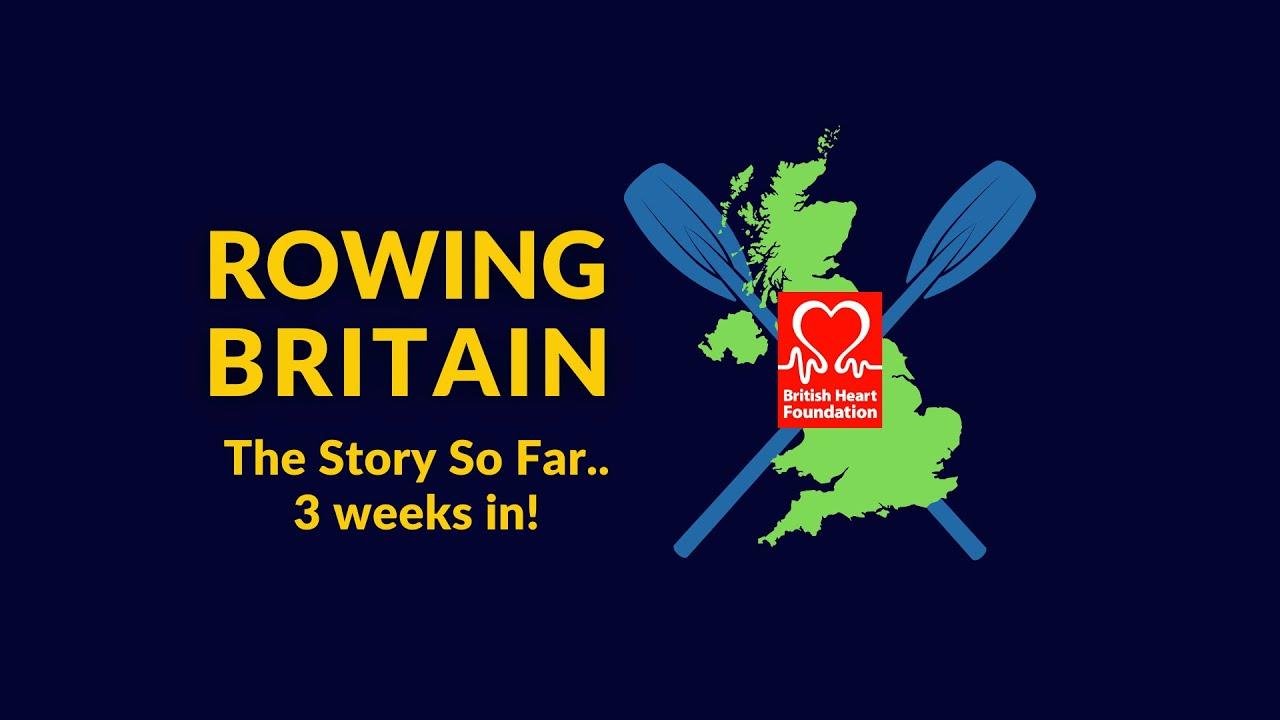 Rowing Around Britain: The Story So Far!