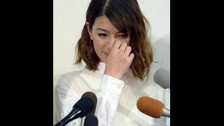 先日離婚会見を開いたスザンヌ。 一時、 斉藤和巳の上田桃子との浮気に...