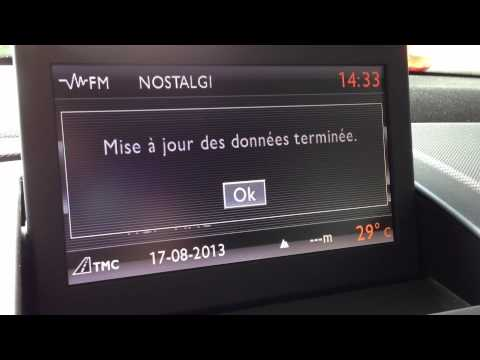 mise jour upgrade du firmware du wip nav sur une peugeot 308 via carte sd. Black Bedroom Furniture Sets. Home Design Ideas