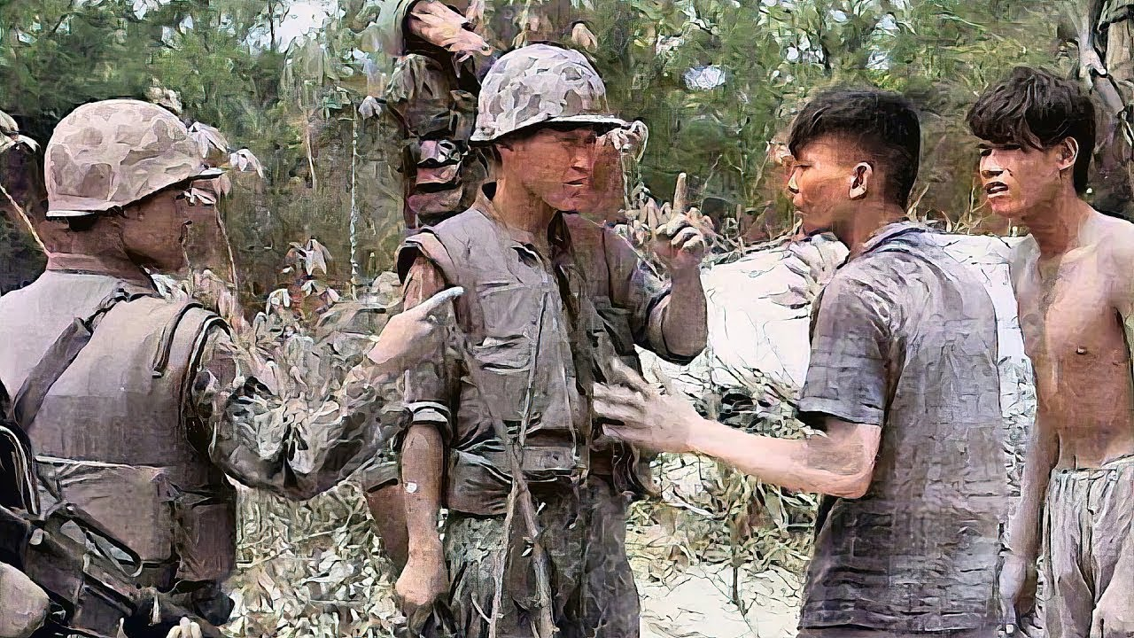 Korean Soldiers Terrified the Enemy during Vietnam War (Marine Reacts)