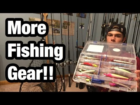All My Walleye Fishing Gear?!?!