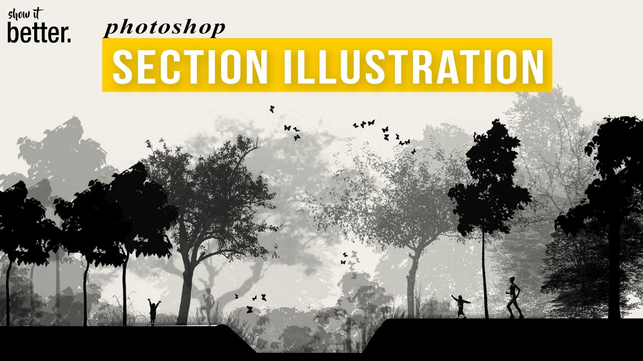 Photoshop Brushes In Architecture Representation Free
