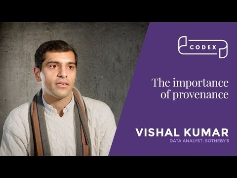 Vishal Kumar The importance of provenance