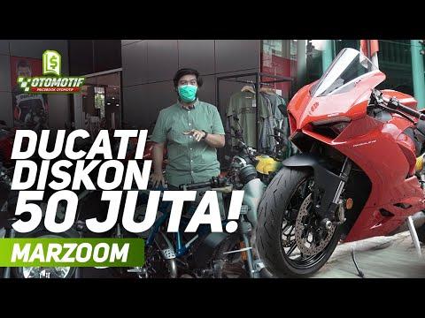 90 Jutaan Dapet Ducati! Grebek Dealer Ducati Jakarta, Ada Ducati Panigale V2! #MarZoom