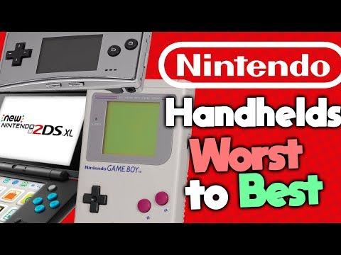 Ranking Every Nintendo Handheld