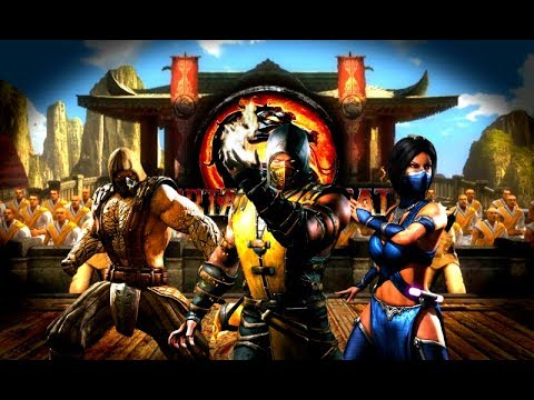 Mortal Kombat 9 (PC) - MKX Skins Mods By AlterL - Gameplay With Download Links