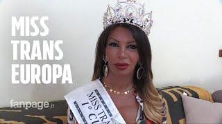"""Sara Finizio è Miss Trans Europa 2018: """"Lasciateci adottare bambini che hanno bisogno d'amore"""""""