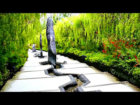 Beautiful Chinese Garden Landscape in Singapore