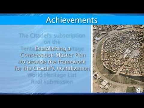 The rehabilitation of the Erbil Citadel