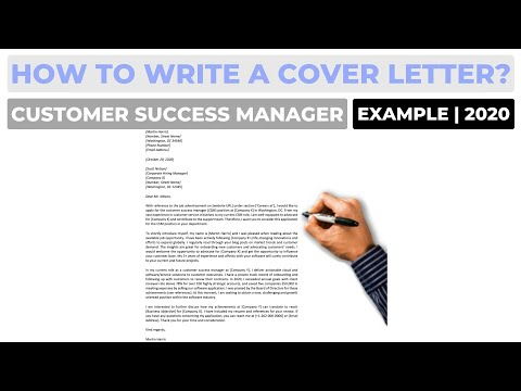 Customer Success Manager Cover Letter from i.ytimg.com