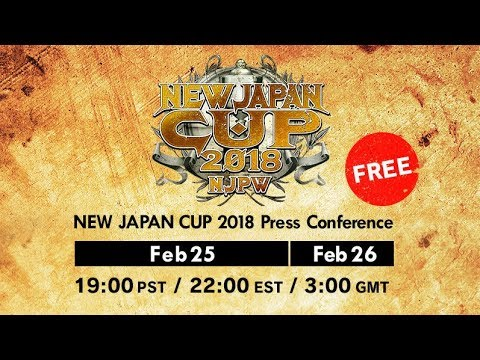 【Live】NEW JAPAN CUP 2018 : Press Conference