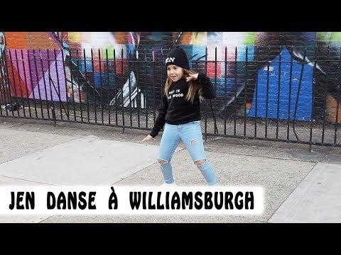 JEN DANSE À WILLIAMSBURGH !