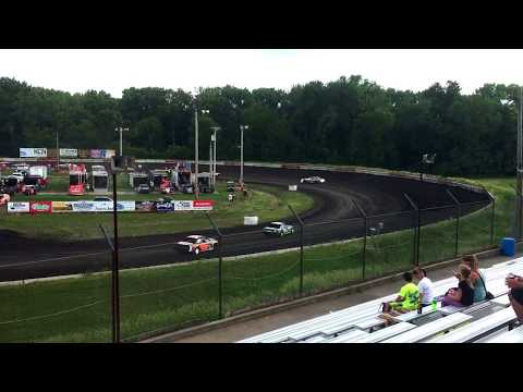 Hamilton County Speedway 6-3-17 Raced On 6-10-17 Stock Car Feature