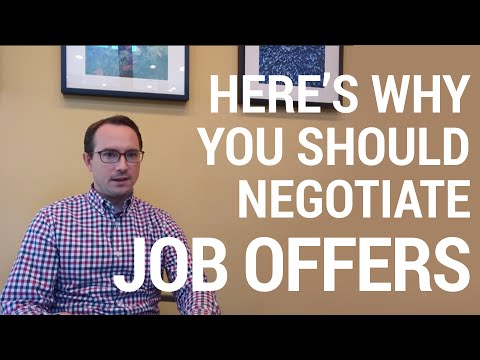 Salary Negotiation Tips: Winning after a job offer
