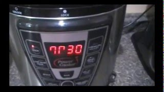 Pinto Beans in the Power Cooker/Pressure Cooker