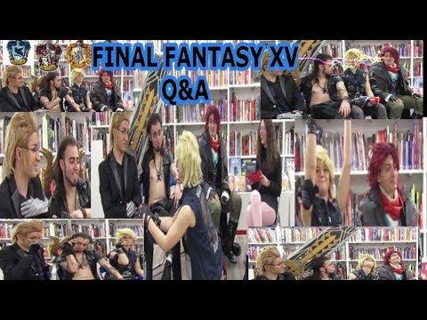 ¡¡Preguntas y respuestas con los personajes del Final Fantasy XV!!-[Rose Jebi]