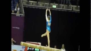 Anastasia Grishina 2012 Balance Beam D Score Guide