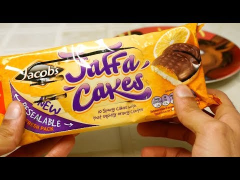 Jaffa Cakes Unwrapping and Taste Test Review [Sir Sebastian]