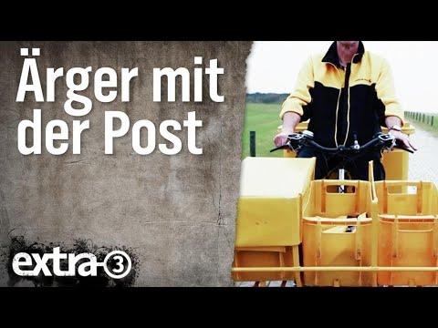 Ärger über die Deutsche Post | extra 3 | NDR
