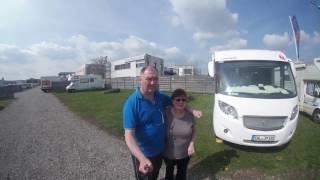 Unser Wohnmobil - Osterreise 2017 und Videotagebuch Teil 2