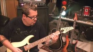 How to play Take Hold Of The Flame by Queensryche on guitar by Mike Gross