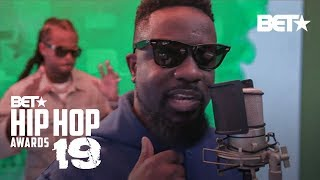 Sarkodie & Kalash Bring THE Heat In The Best International Flow Cypher! | Hip Hop Awards '19