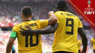 Belgium Smashes Tunisia Scoring 5 Goals To Get Their 2nd Win At The World Cup