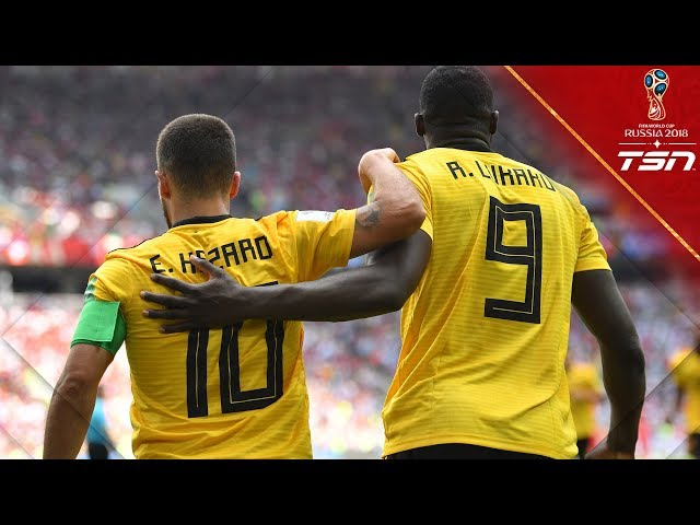 Belgium SMASHES Tunisia, scoring 5 goals to get their 2nd win at the World Cup