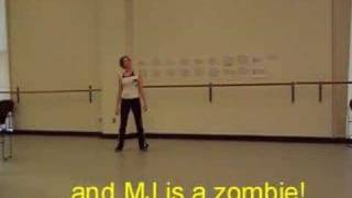Learn Thriller Dance -- Part 40 of 40 clips
