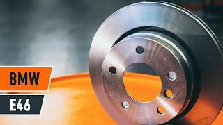Išmontavimo priekyje ir gale Stabdžių diskas internetinės instrukcijos