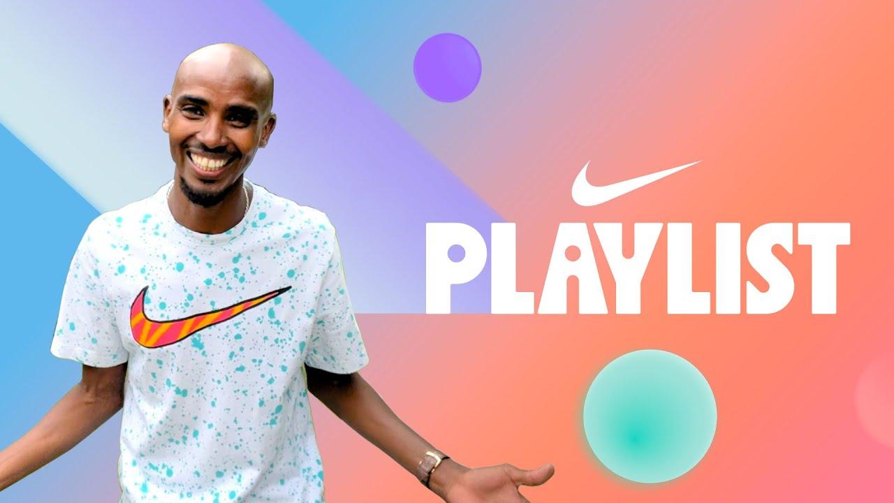 Fruit Fight with Mo Farah + 60-second Hang with Nicole Pérez (S8E2) | Nike Playlist | Nike