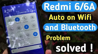 Auto on bluetooth and wifi in redmi 6/6A after pie update  solved 💪😄👌| Bug fixed in redmi 6/6A