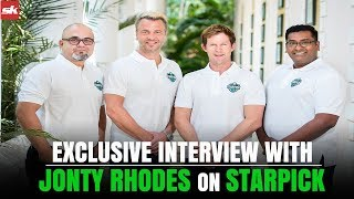 Exclusive Interview With Jonty Rhodes And The Founders Of Starpick | Sportskeeeda