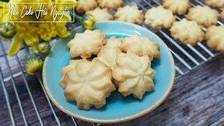 Cách làm BÁNH QUY BƠ Thơm Ngon Cho Ngày Tết - How To Make Butter Cookies