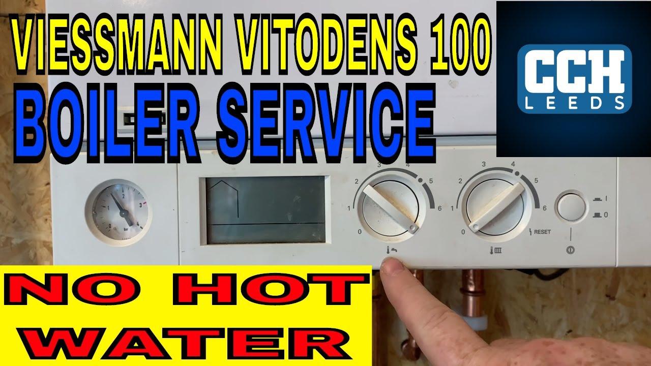 Viessmann vitodens 100 no hot water boiler service for Viessmann vitodens 100 prezzo