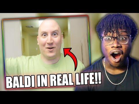 BALDI COMES TO LIFE! | BALDI'S BASICS: THE MUSICAL Reaction!